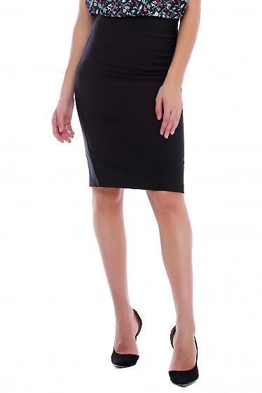 Купить юбку карандаш чёрную деловую. Деловая женская одежда фото