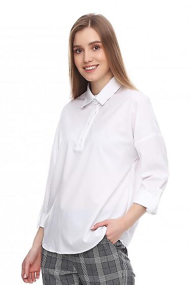 Купить блузку нарядную белую. Деловая женская одежда фото