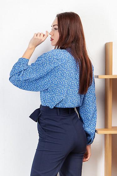 Купить блузку с пышным рукавом. Деловая женская одежда фото