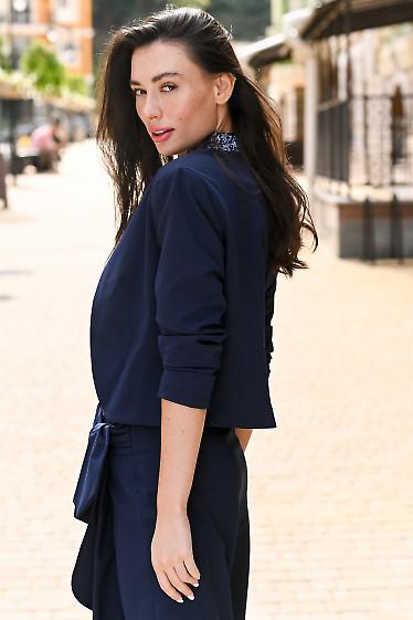 Синее болеро женское фото