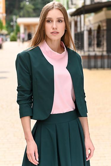 Зеленое женское болеро фото