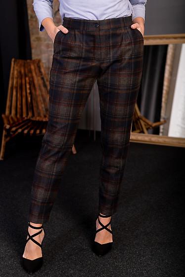 Теплые брюки на флисе
