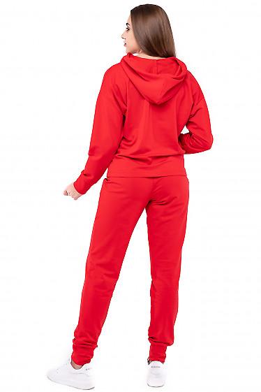 Трикотажный спортивный костюм