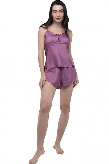Пижама женская фиолетовая. Деловая женская одежда