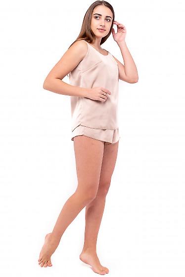 Шелковая пижама женская