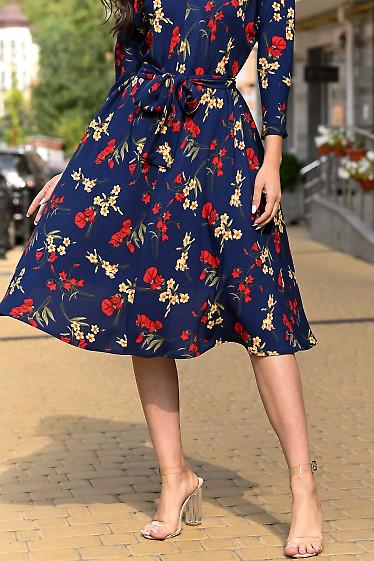 Платье с хлопка фото