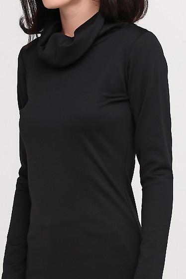 Туника черная Деловая женская одежда фото