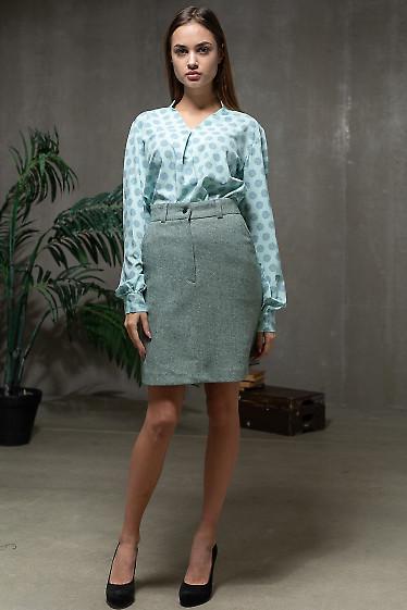 Утепленная женская юбка фото