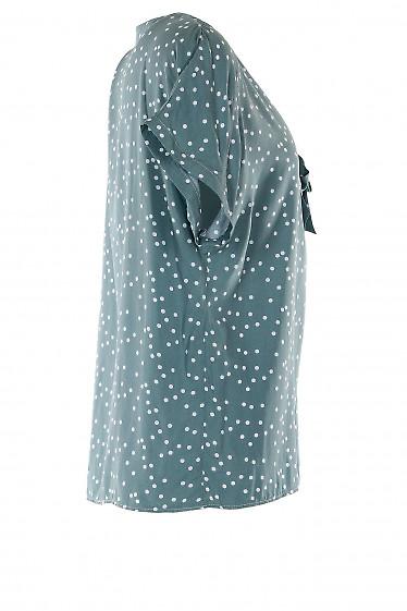 Летняя блузка с коротким рукавом