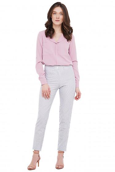 Блузка стильная Деловая Женская Одежда фото