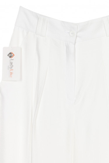 Купить женские палаццо с защипами. Деловая женская одежда фото