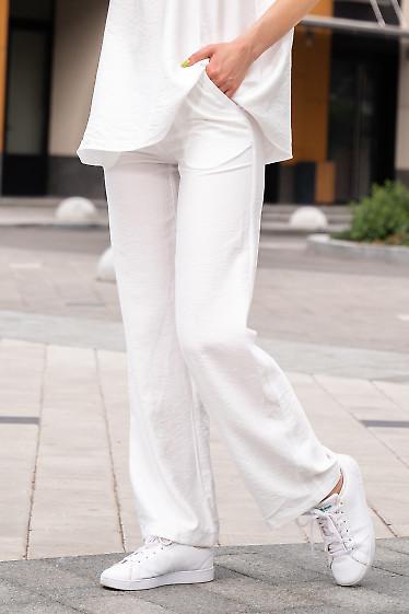 Брюки жіночі літні білі. Жіночий одяг.
