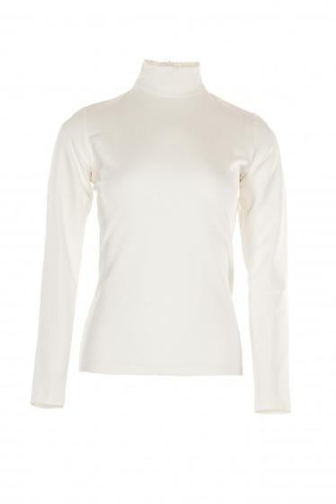 Гольф белый тонкий. Деловая женская одежда фото