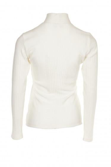 Купить гольф молочный полосатый. Деловая женская одежда фото