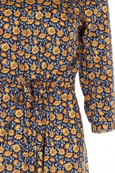 Платье хлопковое Деловая женская одежда фото