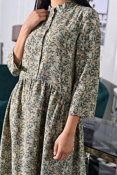 Платье с асимметричной талией