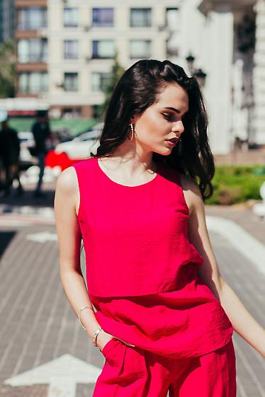 Женский льняной топ. Деловая женская одежда фото