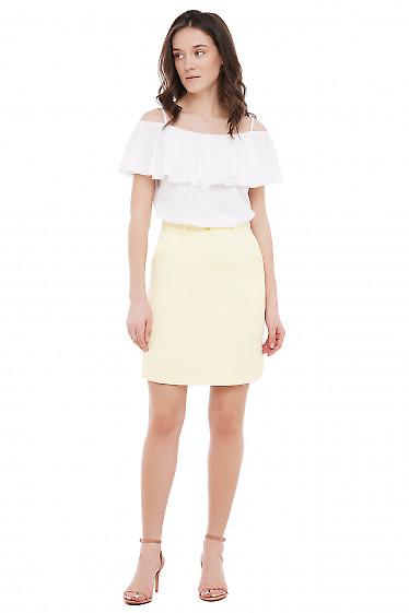 Топ летний нарядный Деловая Женская Одежда фото