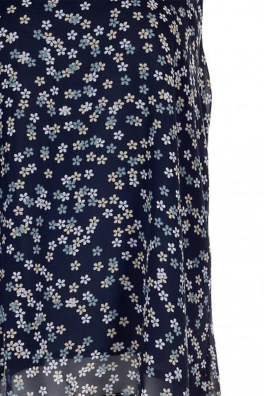 Фрагмент ткани шифонового топа. Деловая Женская Одежда фото