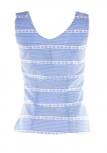 Топ из хлопка Деловая Женская Одежда фото