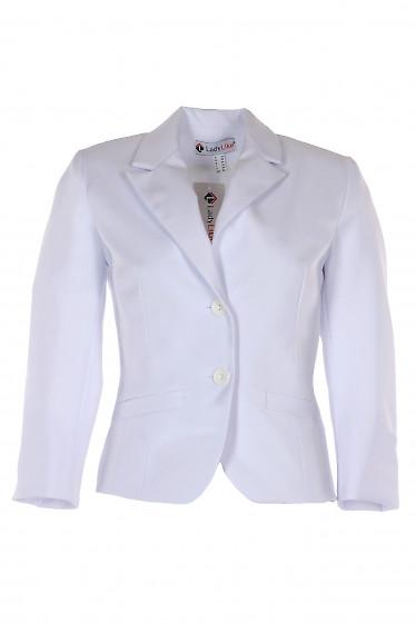 Жакет белый короткий женский. Деловая женская одежда фото